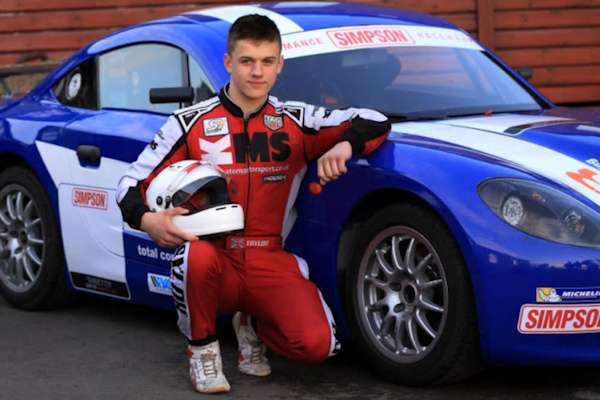 James wins Ginetta Scholarship